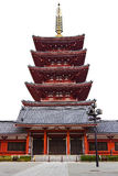 Pagoda at Sensoji Asakusa Temple Royalty Free Stock Photography