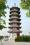 Pagoda, shanghai Royalty Free Stock Photos