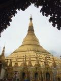 Pagoda Shwedagon стоковые фотографии rf
