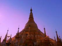 Pagoda Shwedagon Стоковые Изображения RF