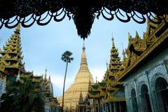 Pagoda Shwedagon Стоковое Изображение