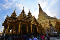 Pagoda Shwedagon Стоковое Изображение RF