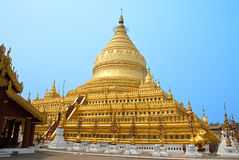 Pagoda Shwezigon Photos stock