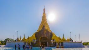 Pagoda Sittwe di Lawkananda fotografia stock libera da diritti