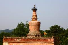 Pagoda in Small Potala Palace Royalty Free Stock Photos