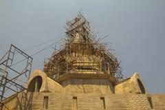 Pagoda sob a construção Foto de Stock Royalty Free