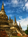 Pagoda stupa tower Stock Photo