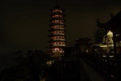 Pagoda su una montagna Fotografia Stock