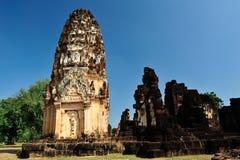 Pagoda in Sukhothai Stock Photo