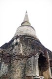 Pagoda at Sukhothai Historical Park. Royalty Free Stock Photo