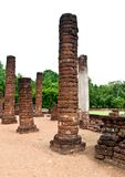 Pagoda at Sukhothai Historical Park. Royalty Free Stock Photography