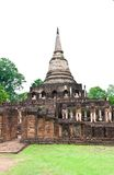 Pagoda at Sukhothai Historical Park. Royalty Free Stock Images