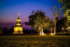 Pagoda at Sukhothai Historical Park, UNESCO World Heritage Site Royalty Free Stock Image
