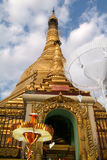 The pagoda of Sule Paya at Yangon Stock Photos