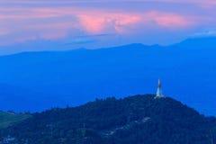 Pagoda sull'alta montagna Fotografie Stock Libere da Diritti