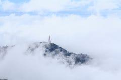Pagoda sull'alta montagna Fotografia Stock