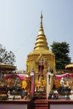 Pagoda sulla montagna Fotografie Stock