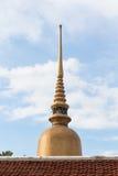 Pagoda supérieure Photographie stock