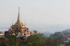 Pagoda sur la montagne Image libre de droits