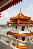 Pagoda sur le lac Photos stock