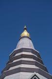 Pagoda sur le moutain, parc national de Doi Inthanon, Thaïlande Photo stock