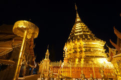 Pagoda Sutep Immagini Stock
