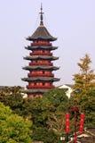 Pagoda Suzhou Cina di Ruigang Immagine Stock