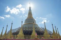 Pagoda Tachileik di governo della Nigeria di Shwe Da Fotografia Stock Libera da Diritti