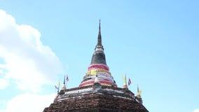 Pagoda tailandês vídeos de arquivo