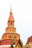 Pagoda tailandesa Foto de archivo libre de regalías