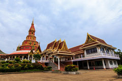 Pagoda tailandesa Imágenes de archivo libres de regalías