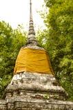 Pagoda tailandesa con el bambú Fotografía de archivo libre de regalías