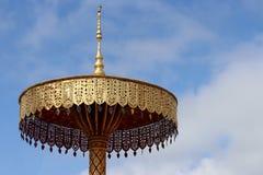 Pagoda tailandesa del estilo Fotos de archivo