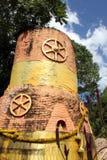 Pagoda tailandesa vieja Fotos de archivo libres de regalías