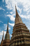 Pagoda tailandesa, Wat Pho, Bangkok Fotos de archivo libres de regalías