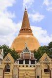 Pagoda in Tailandia Fotografie Stock