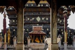 Pagoda in Tailandia del Nord. Immagini Stock