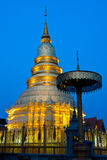 Pagoda in Tailandia, Lumpoon Immagini Stock
