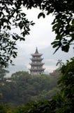 Pagoda, Taiwan Royalty Free Stock Images