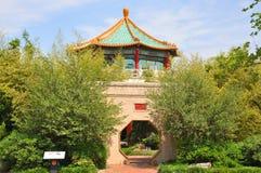 Pagoda Tea House, Norfolk, VA, USA. The Pagoda and Tea House in waterfront of Norfolk, Virginia, USA royalty free stock image