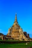 Pagoda at temple, Ayutthaya, Thailand Royalty Free Stock Photo