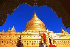 Pagoda in Bagan. Pagoda or temple in Bagan Myanmar stock photo