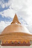 Pagoda. In the temple in central Thailand Stock Image