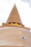Pagoda. In the temple in central Thailand Royalty Free Stock Photography
