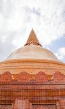 Pagoda. In the temple in central Thailand Royalty Free Stock Photos