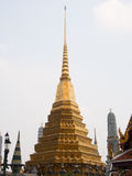 Pagoda at Temple of the Emerald Buddha (Wat Phra Kaew. ), bangkok thailand stock photos