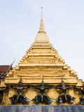 Pagoda at Temple of the Emerald Buddha (Wat Phra Kaew. ), bangkok thailand stock photography