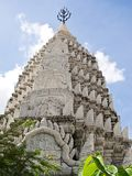 Pagoda at temple located in Bangkok , Thailand Stock Photo