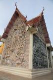 Pagoda. Temple monk wall Royalty Free Stock Photos