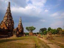 Pagoda. Temple or pagoda old. Exotics are very abundant in the city of Ayutthaya Stock Photos